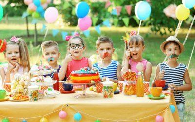 Emma quiso un mago en su fiesta infantil